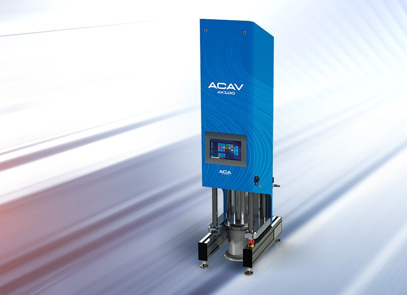 ACAV AX100 Ultra high shear viscometer 2
