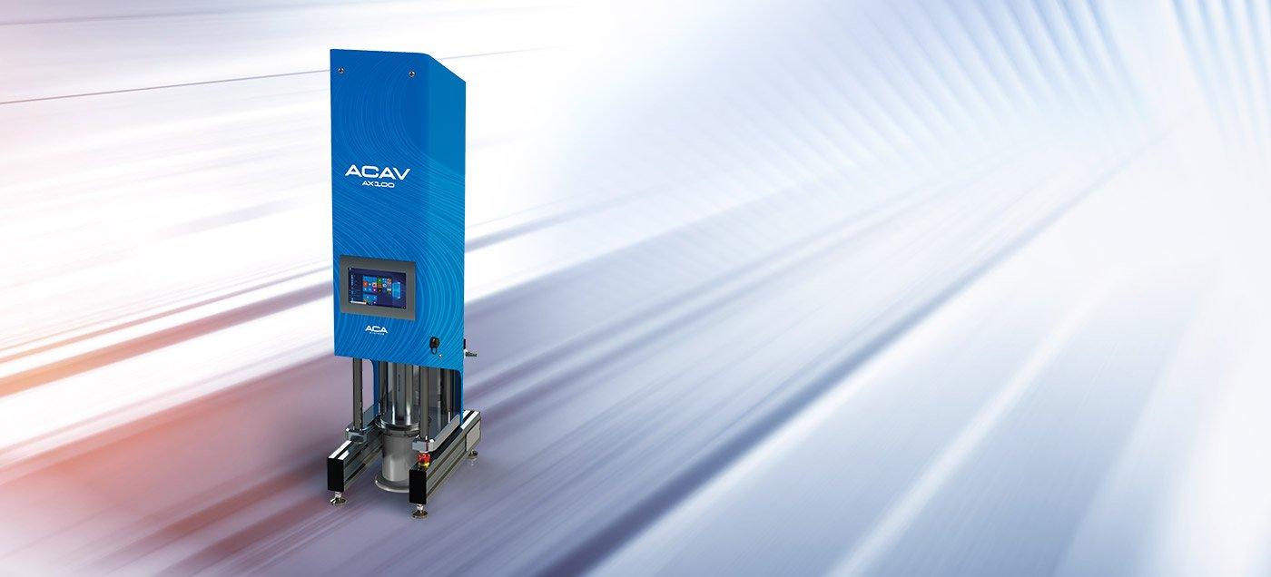 ACAV AX100 analyzer
