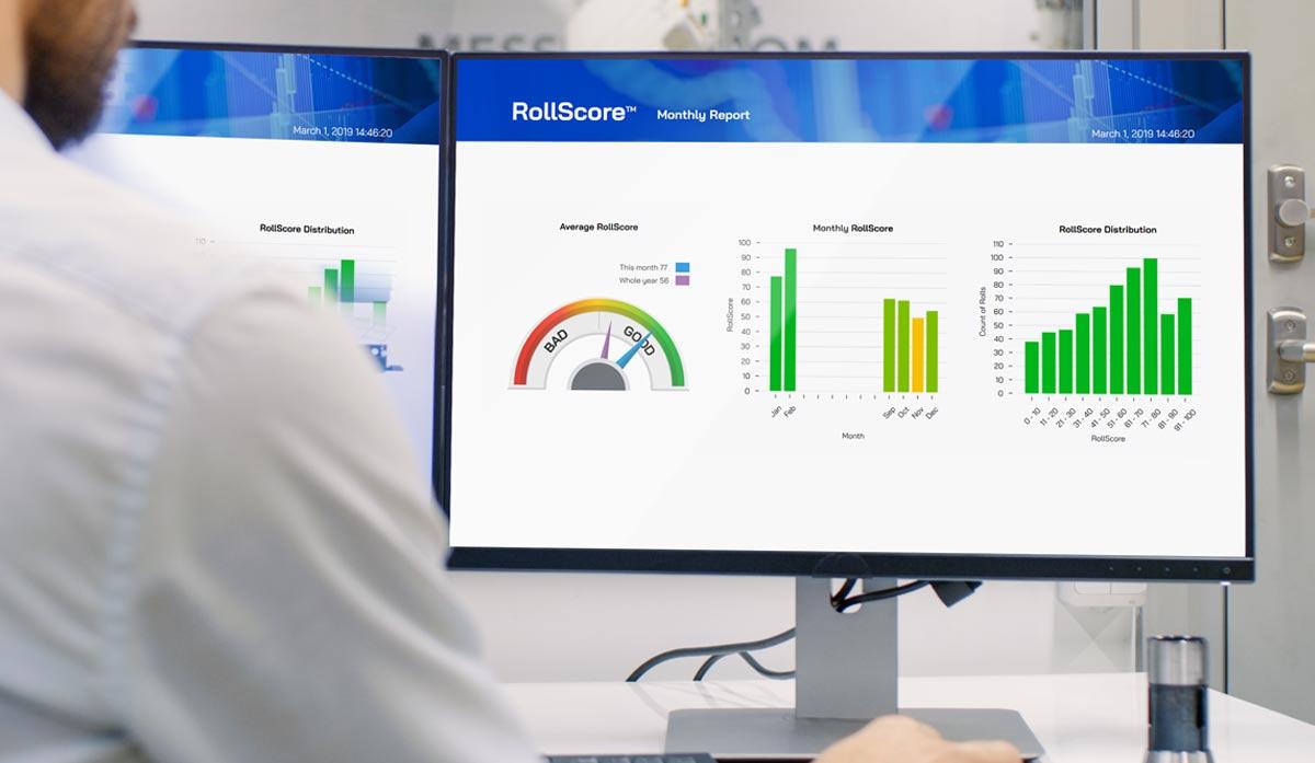 roll hardness profile roll quality analyzer